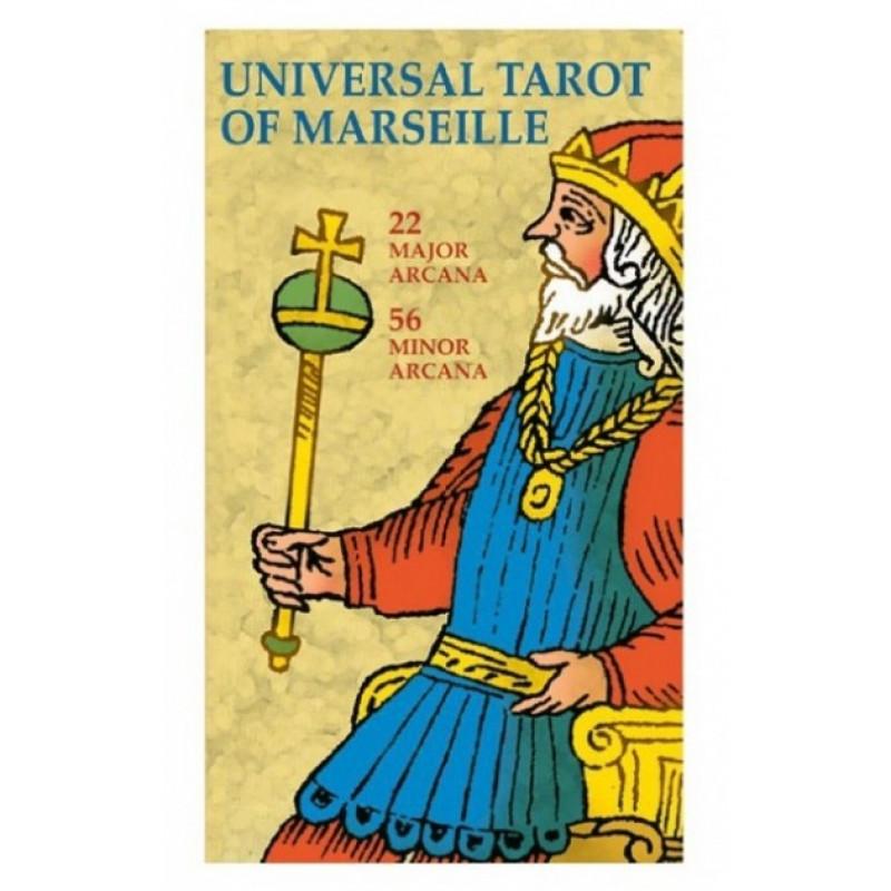 Карты Универсальное Марсельское Таро - Universal Tarot of Marseille - Bursten/Conver, Lo Scarabeo