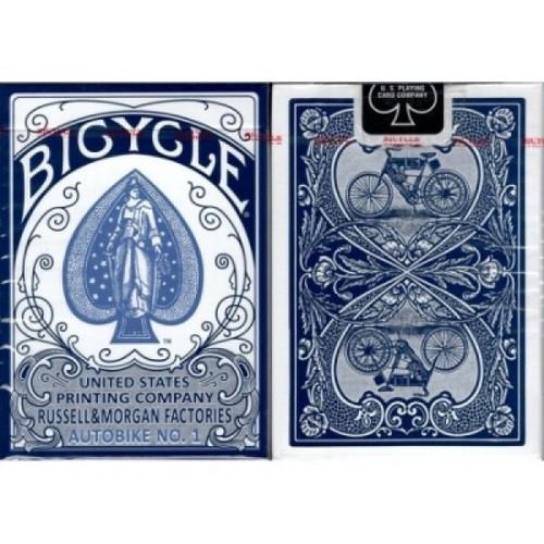 Карты Bicycle AutoBike No.1 - синие