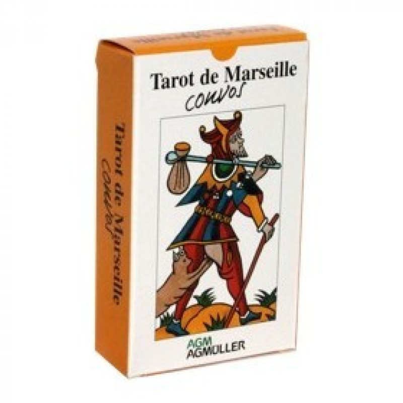 Карты Таро Tarot de Marseille Convos/Марсельское Таро Convos, AGM