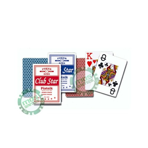 Игральные карты Клуб Стар (Джамбо Индекс)