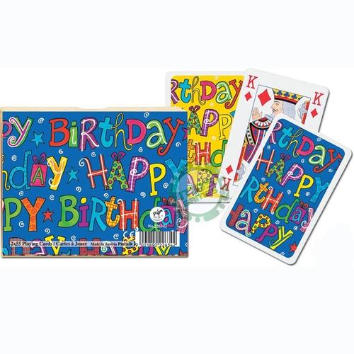 Карточный набор С Днем Рождения