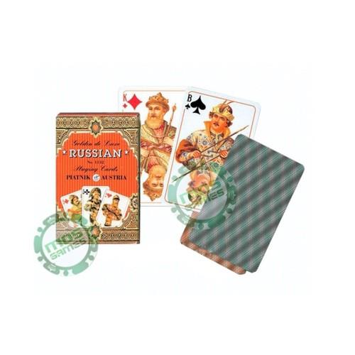 Игральные карты Золотая Россия
