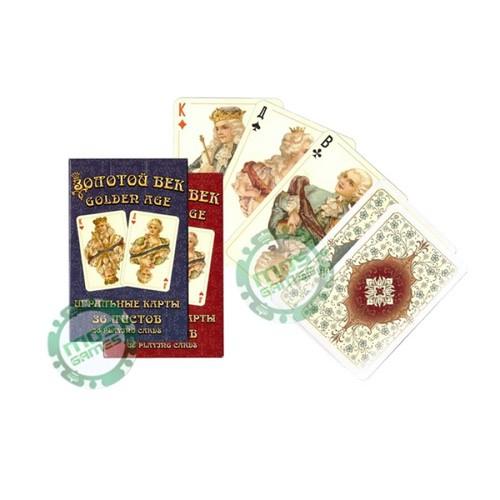 Игральные карты Золотой век