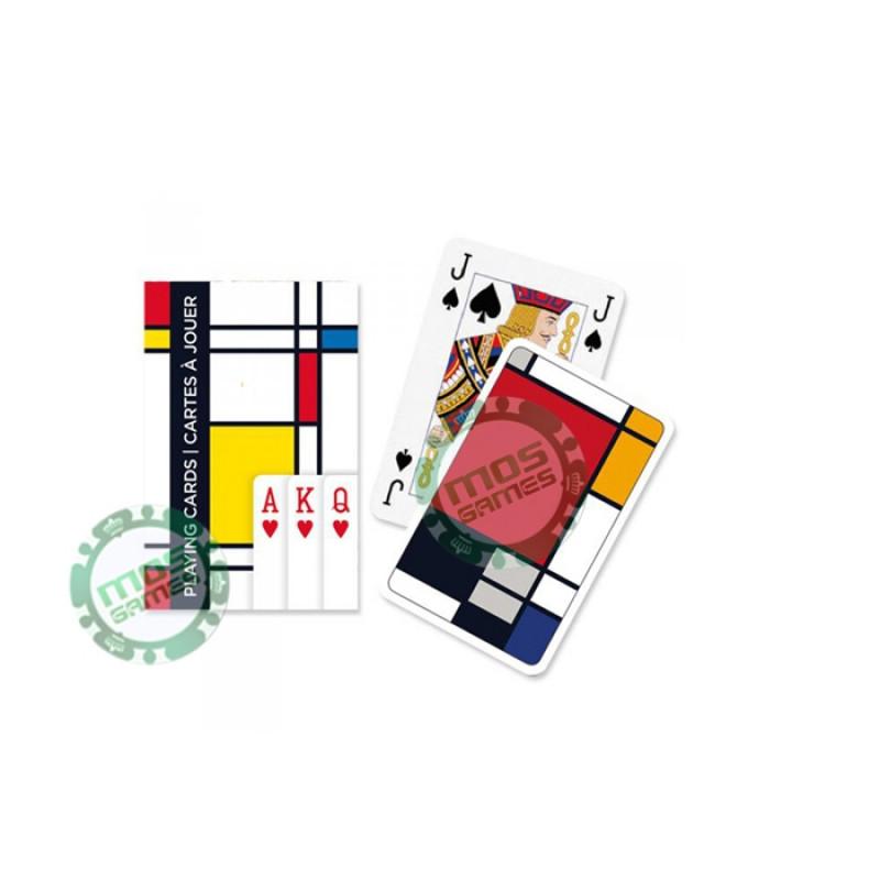 Игральные карты Узоры квадраты