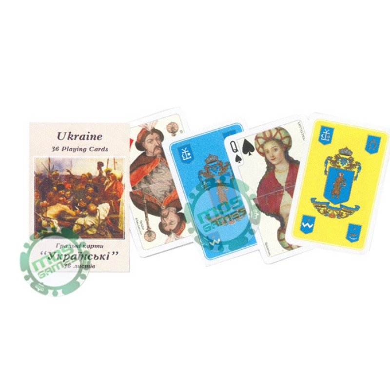 Игральные карты Украина