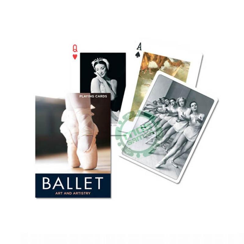 Коллекционные карты Балет, 55 листов