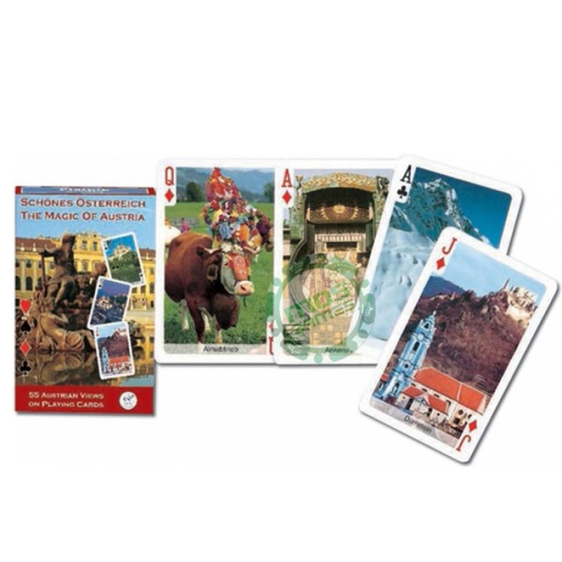 Коллекционные карты Волшебство Австрии