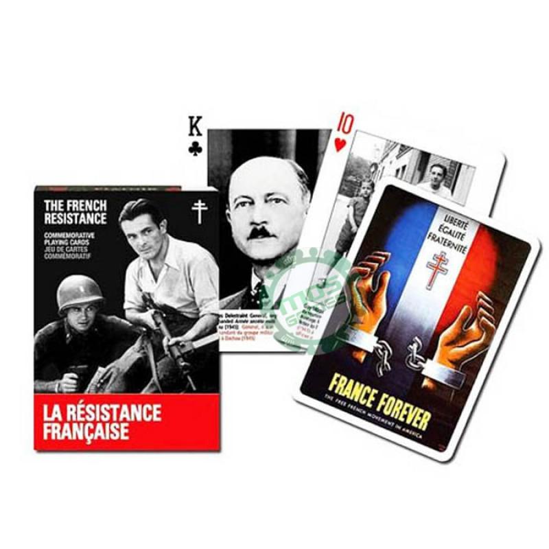 Коллекционные карты Герои французского сопротивления