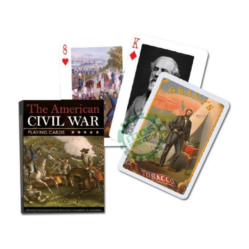 Коллекционные карты Гражданская война в Америке