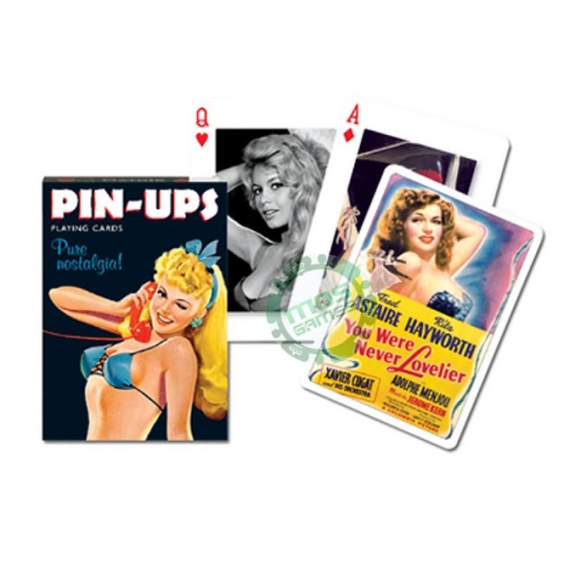 Коллекционные карты Девушки на плакатах