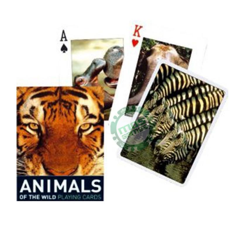 Коллекционные карты Дикие животные