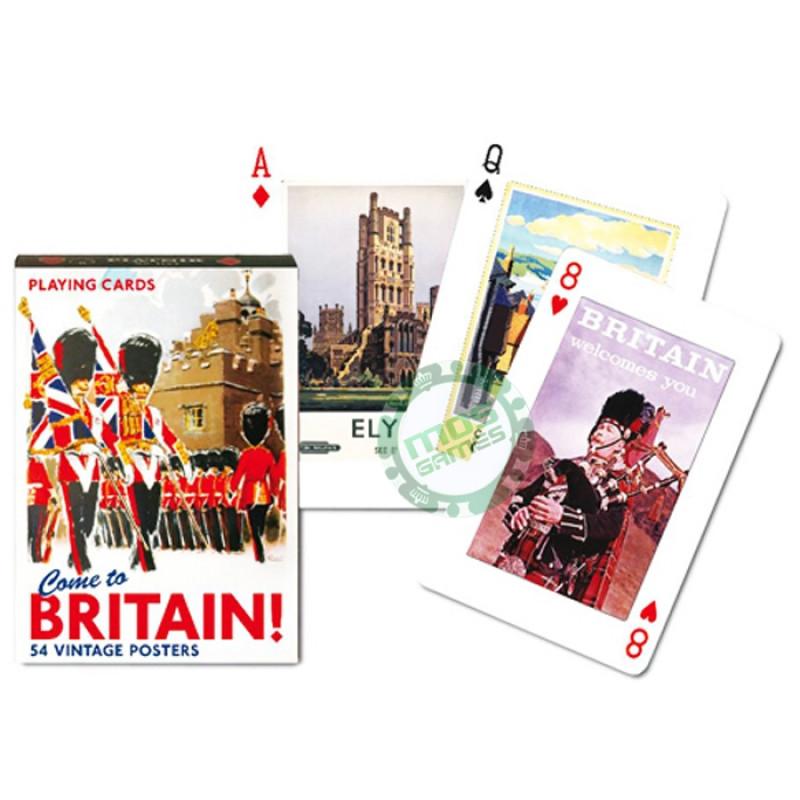 Коллекционные карты Добро пожаловать в Англию