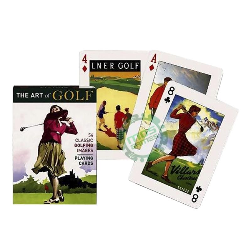 Коллекционные карты Искусство гольфа