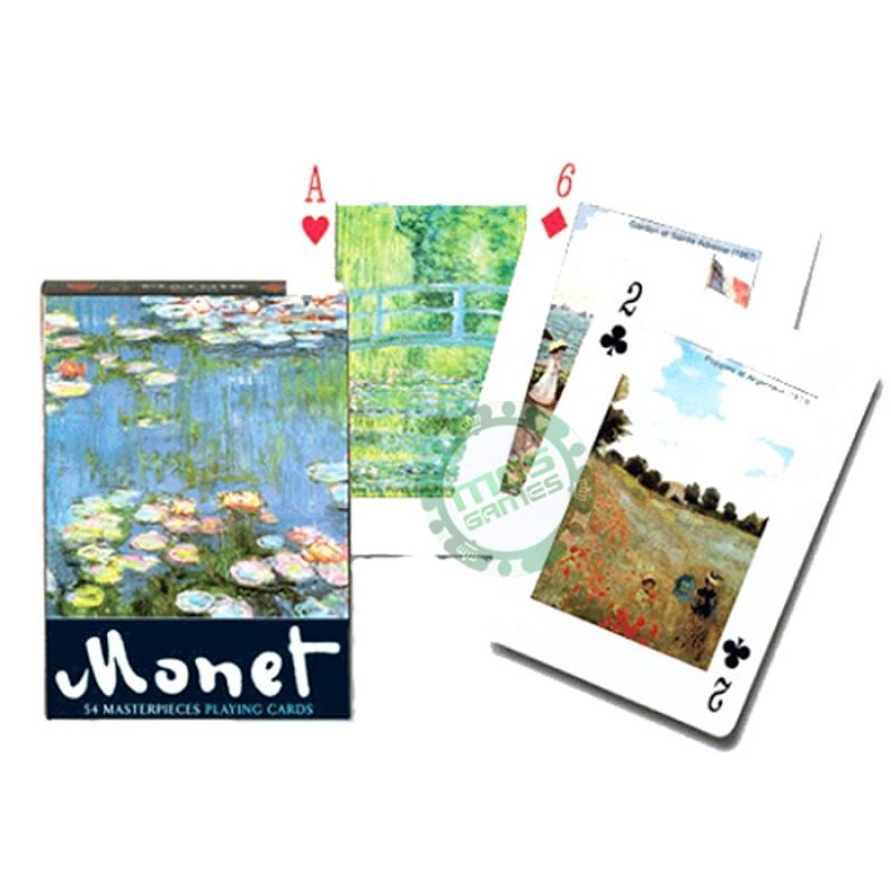 Коллекционные карты Картины Моне
