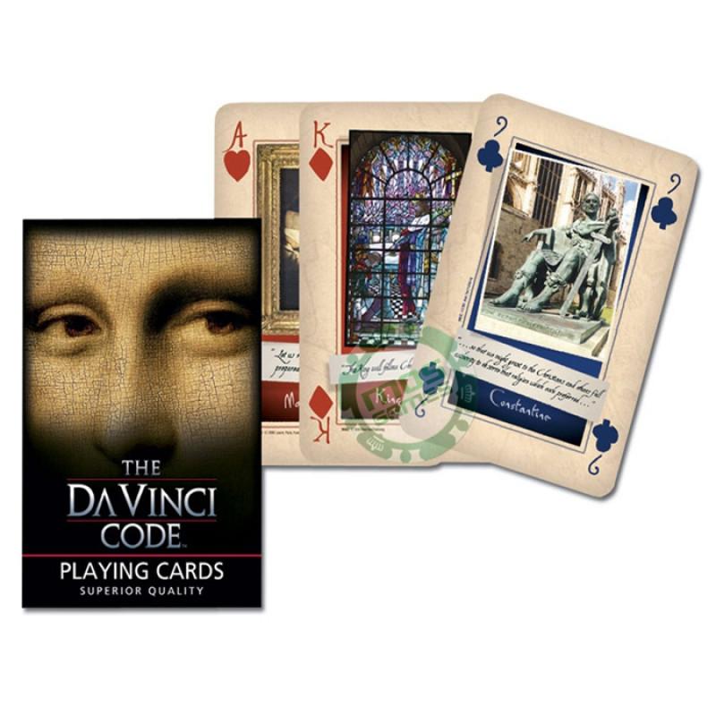 Коллекционные карты Код да Винчи