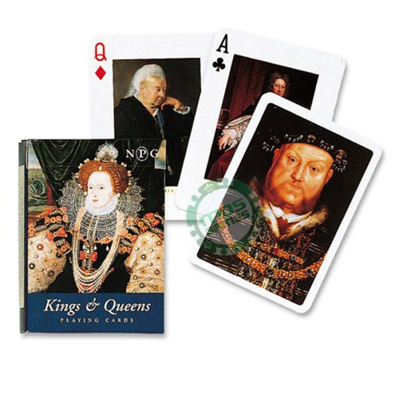 Коллекционные карты Короли и королевы