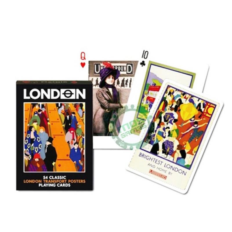 Коллекционные карты Лондонский транспорт