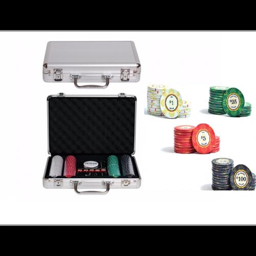 Набор для покера Luxury Ceramic на 200 фишек