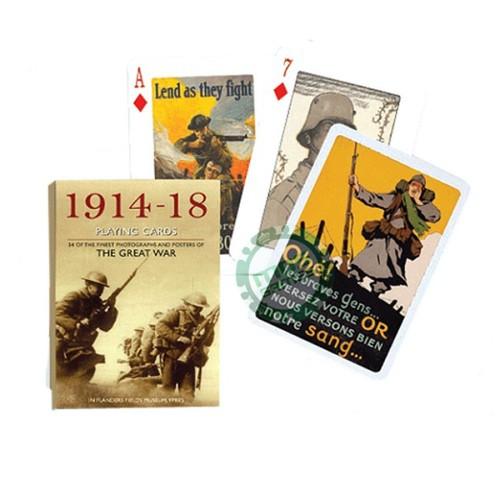 Коллекционные карты Мировая война 1914-18