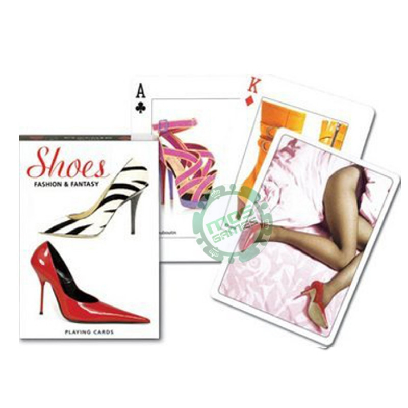 Коллекционные карты Модные туфли