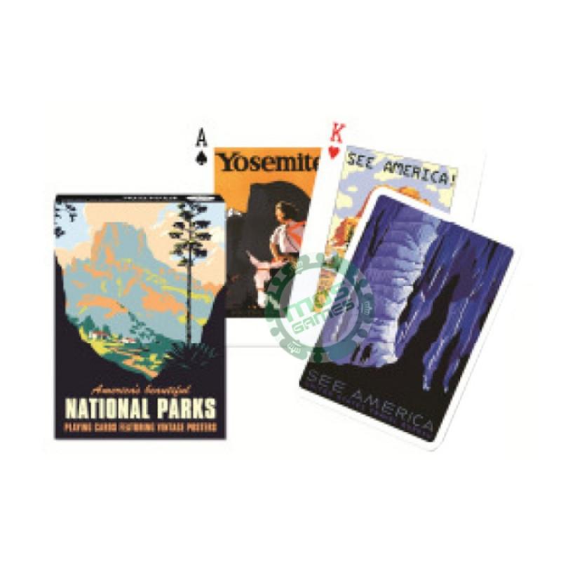 Коллекционные карты Национальные парки