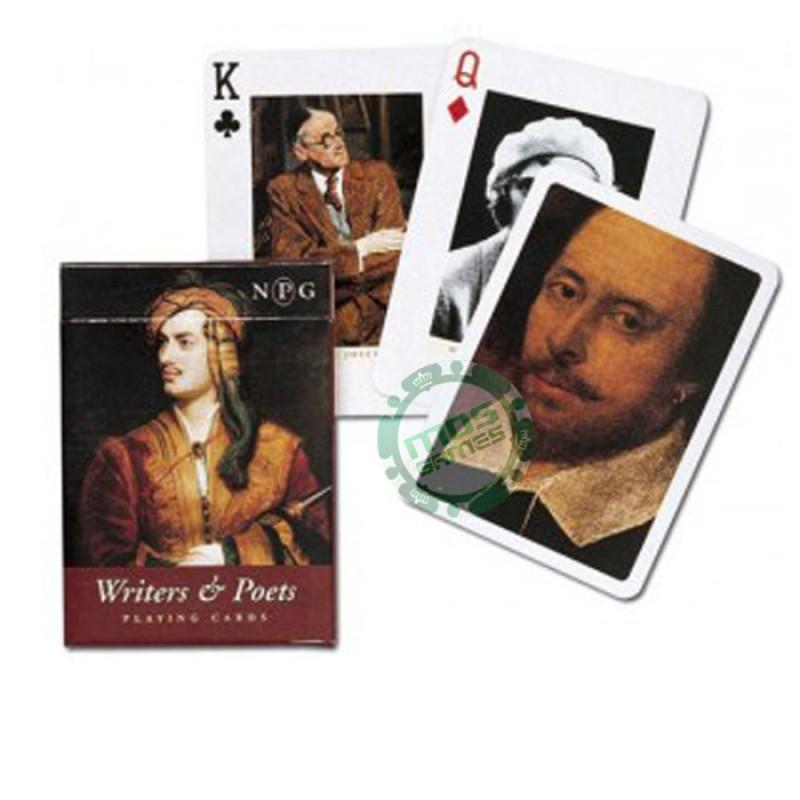 Коллекционные карты Писатели и поэты