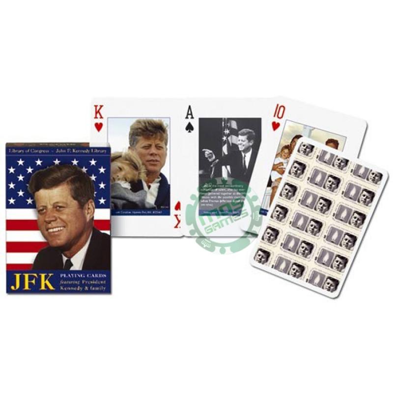 Коллекционные карты Президент Кеннеди и его семья