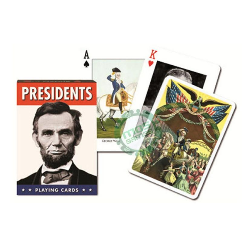 Коллекционные карты Президенты