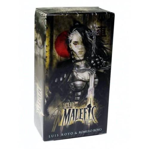 Карты Таро Tarot cards Malefic Time/Смертельная красота - Fournier
