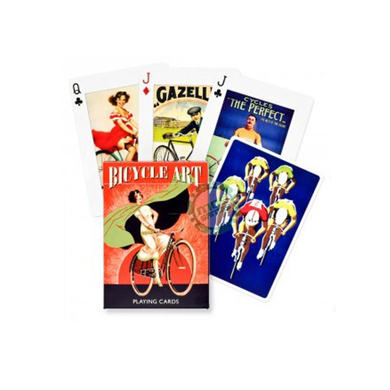 Коллекционные карты Велосипедисты, 55 листов