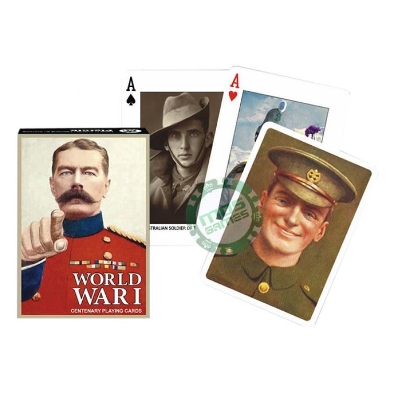 Коллекционные карты Первая мировая война, 55 листов