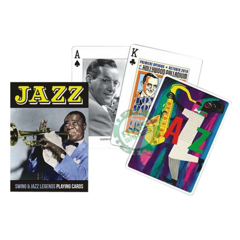 Коллекционные карты Джаз, 55 листов