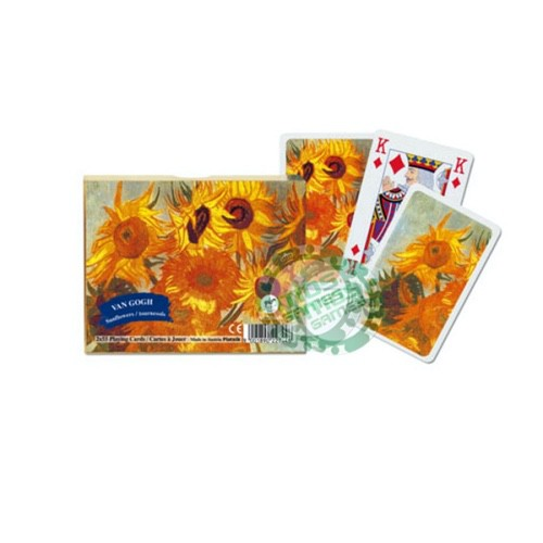 Подарочный набор карт Ван-Гог - Подсолнухи