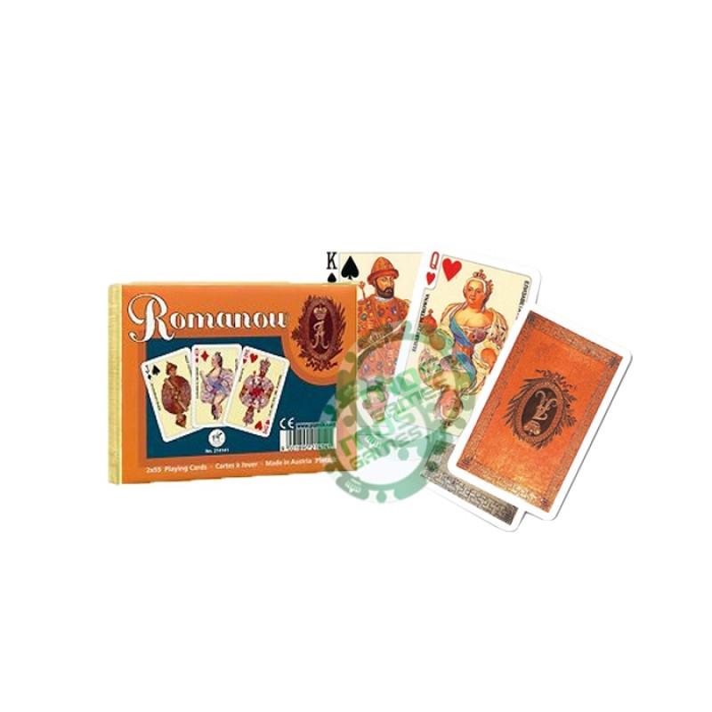 Подарочный набор карт Династия Романовых