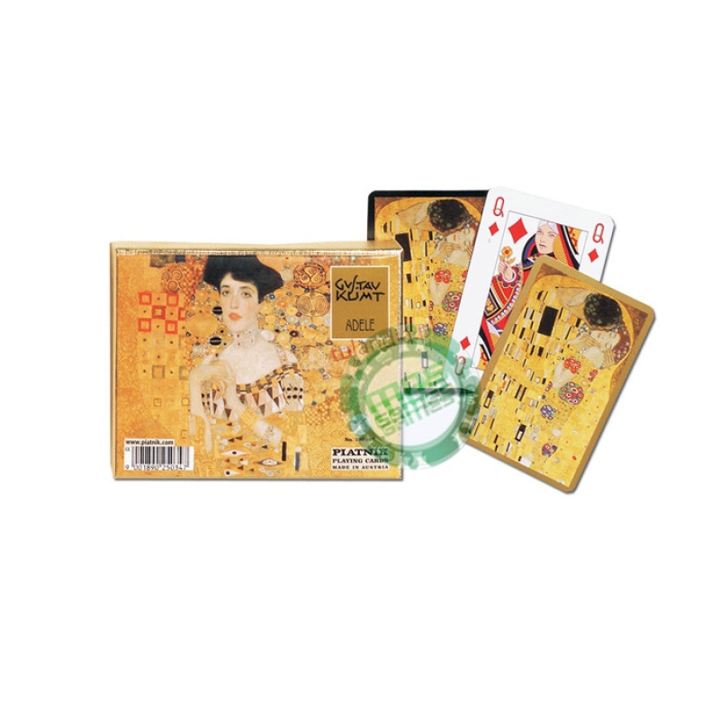 Подарочный набор карт Климт - Портрет Адели