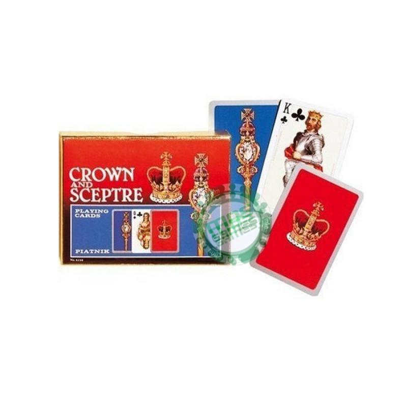 Подарочный набор карт Корона и Скипетр