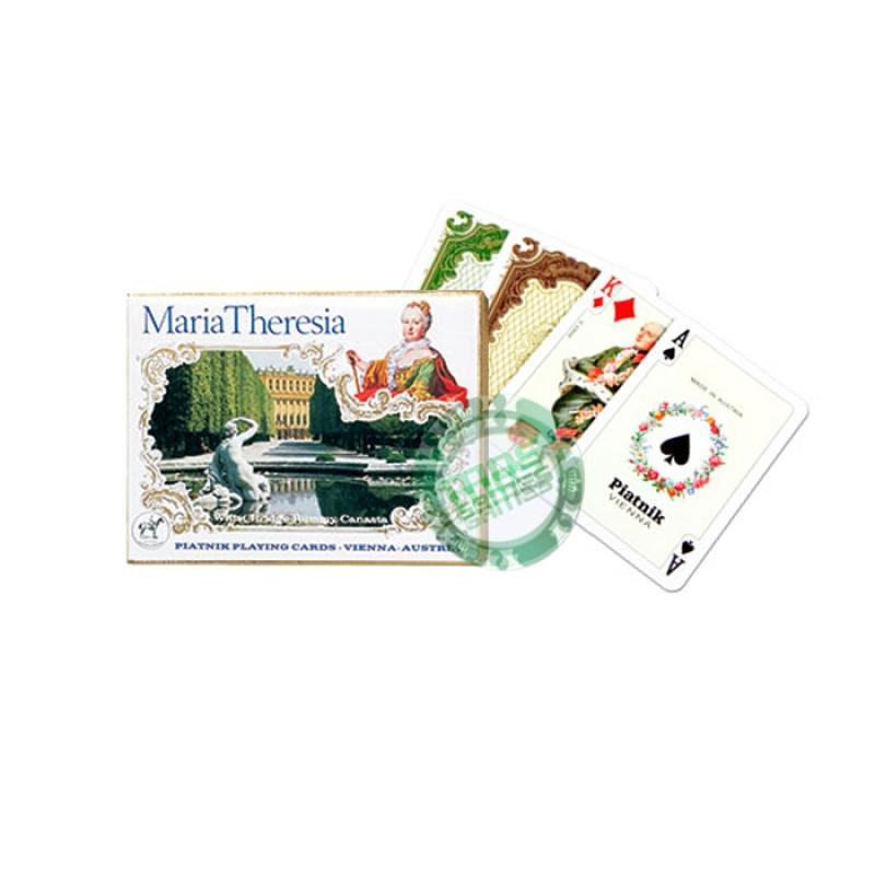 Подарочный набор карт Мария Терезия