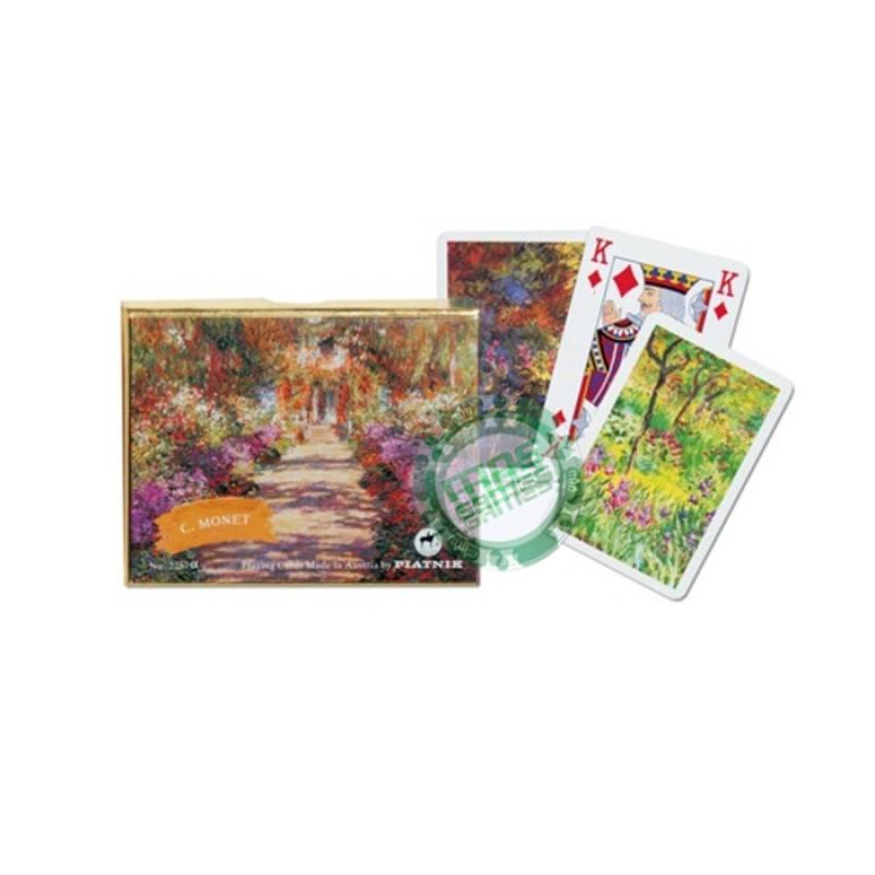 Подарочный набор карт Моне Тропинка в саду Живерни