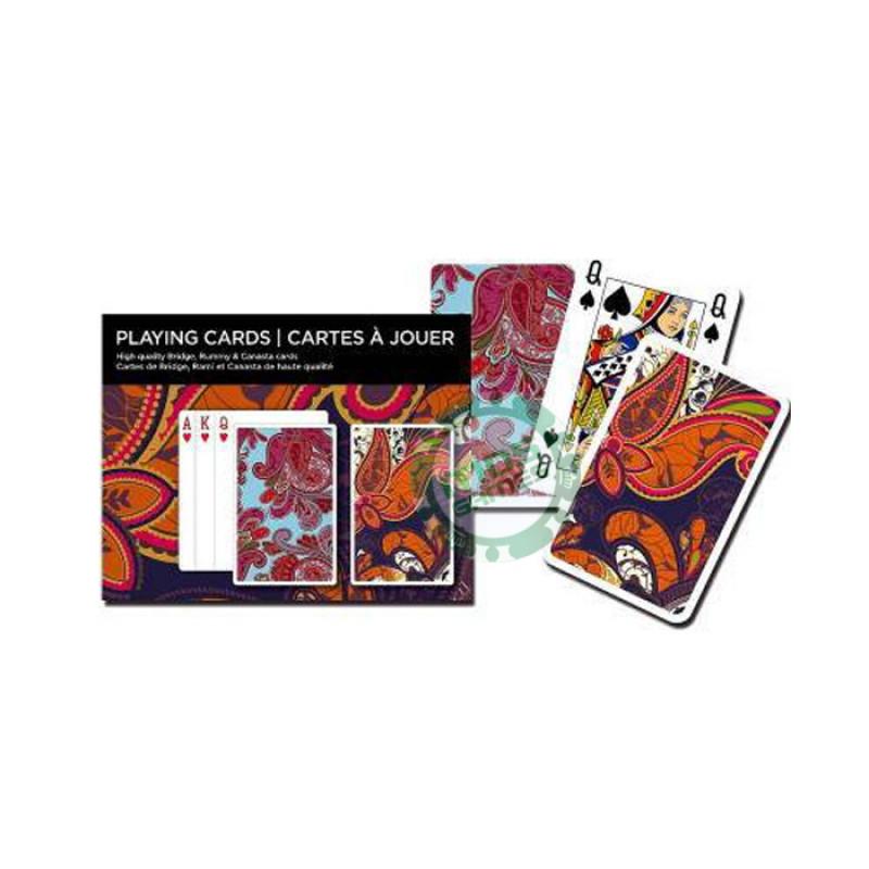 Подарочный набор карт Узор Цветы