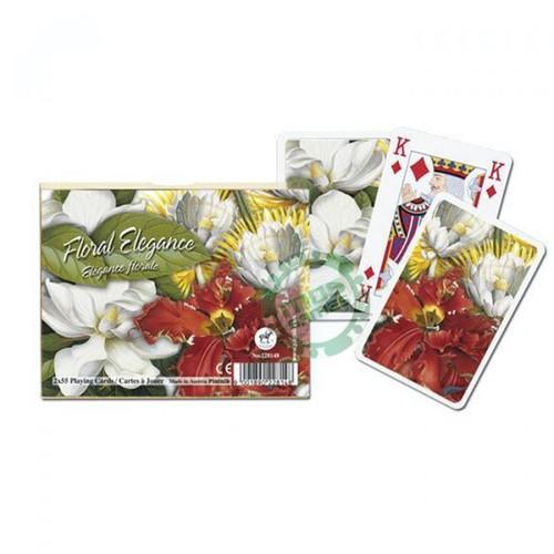 Подарочный набор карт Цветы