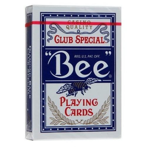 Карты Bee №92 синие