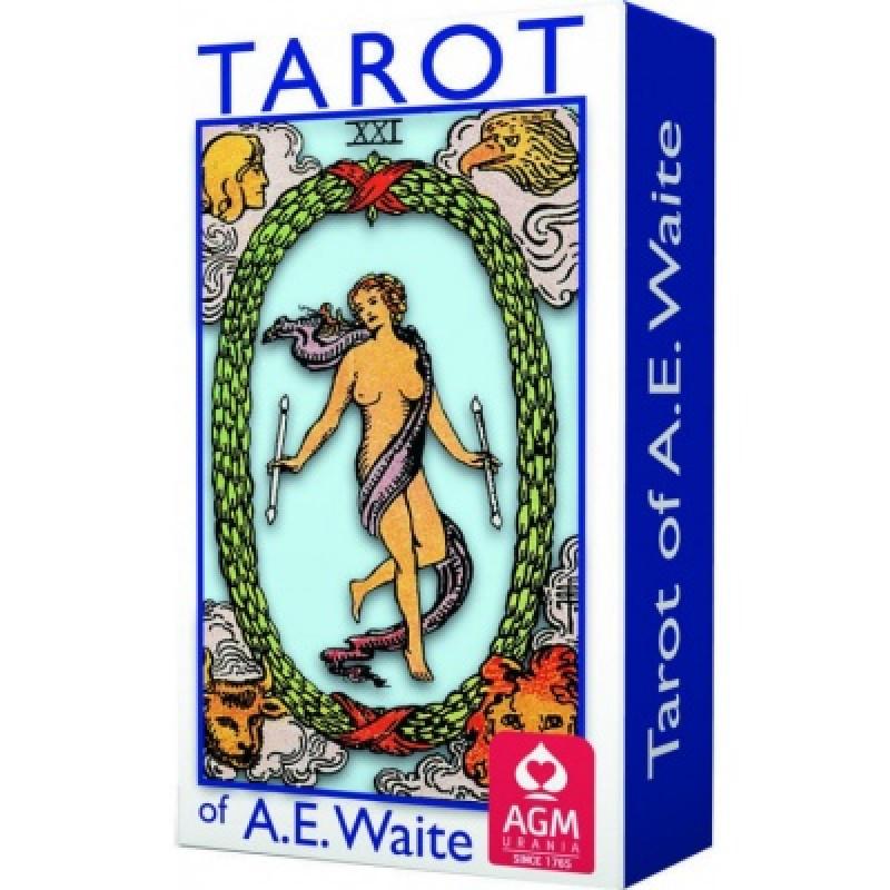 Карты Таро Tarot Cards A.E. Waite мини, AGM