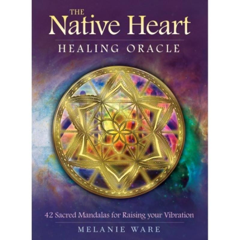 Карты Таро The Native Heart Healing Oracle/Чистое сердце исцеляющий оракул, USG