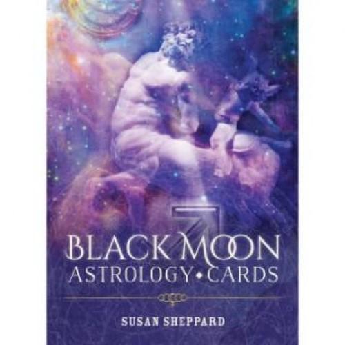 Карты Таро Black Moon Astrology Cards/Астрологические карты Чёрной Луны - Blue Angel
