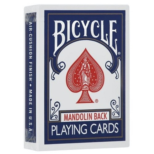 Карты Bicycle 809 Mandolin Back (синие) - USPCC