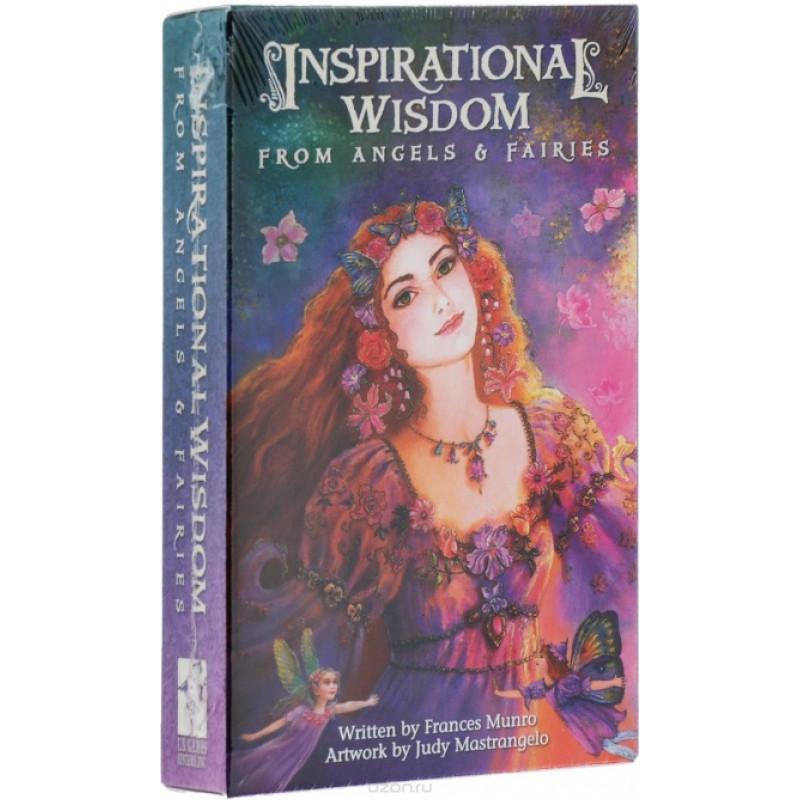 Карты Таро Inspirational Cards Inspirational Wisdom From Angels & Fairies/Карты вдохновения Мудрость Ангелов И Фей