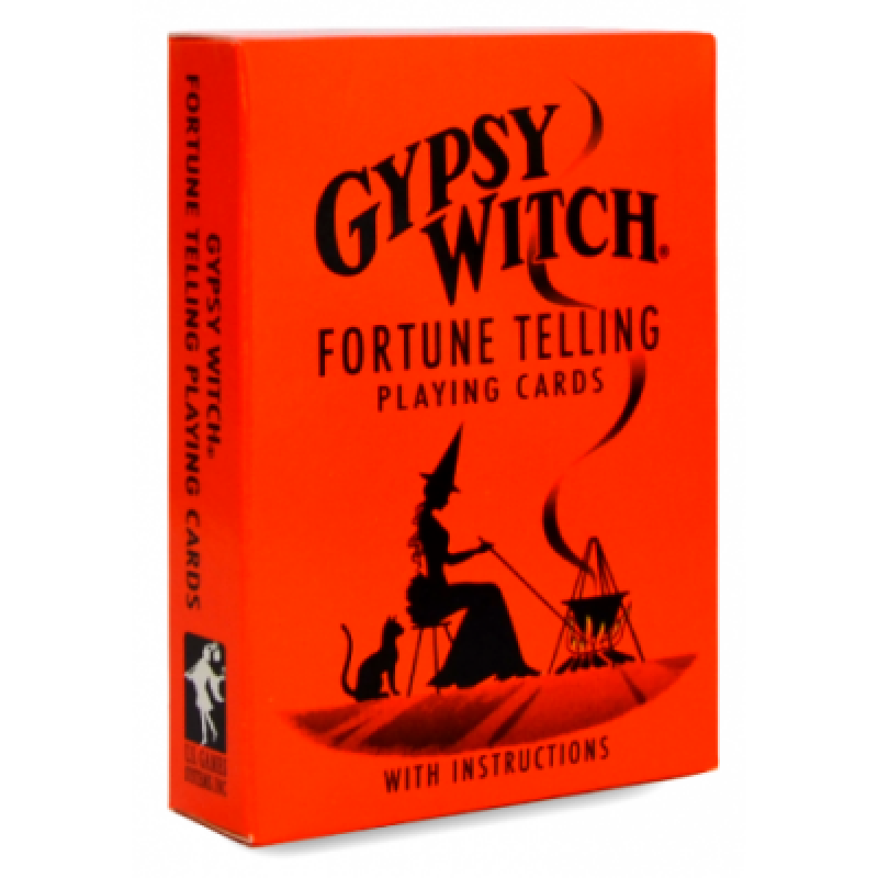 Карты Таро Цыганской Ведьмы - Gypsy Witch Fortune Telling Playing Cards - US Games Systems