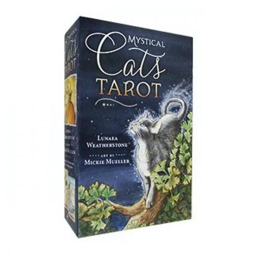 Карты Таро Mystical Cats Tarot/Таро Мистических Кошек - Llewellyn