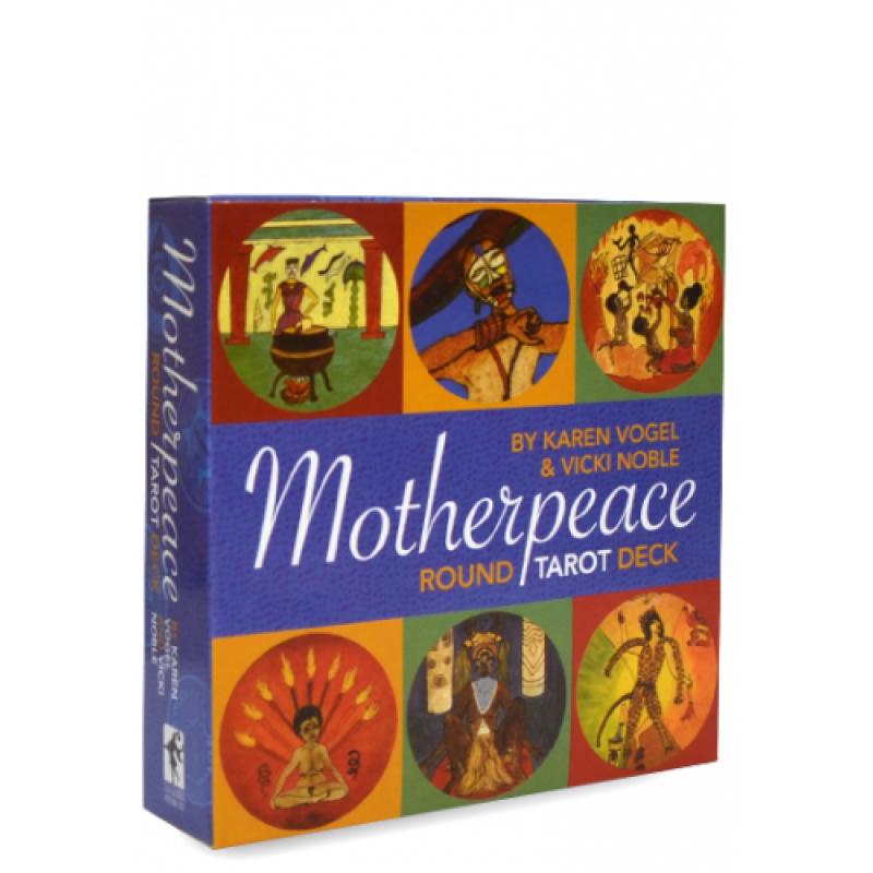 Карты Таро Tarot cards Mini Motherpeace Round/Круглое Мини-таро Матери Мира (Таро Женского Начала)