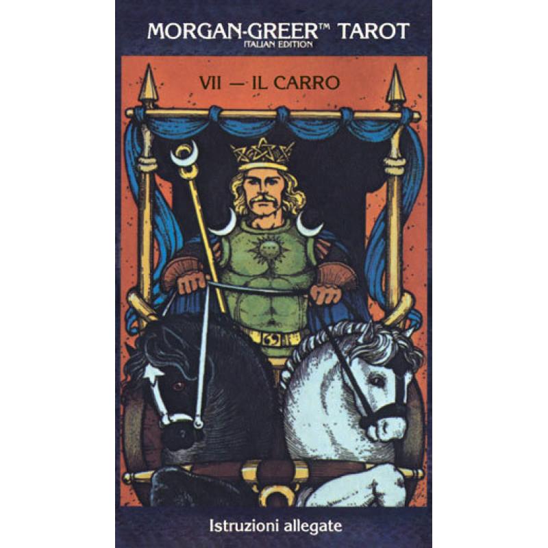 Карты Таро Morgan-Greer Tarot Deck Italian/Итальянское Таро Моргана-Грира - U.S. Games systems